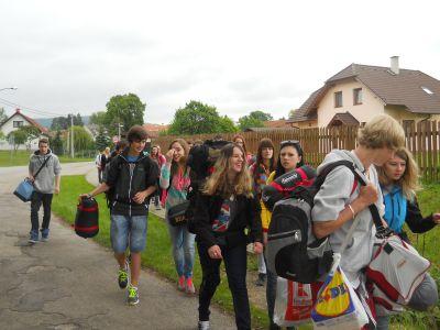 Výlet IX. třídy 2013
