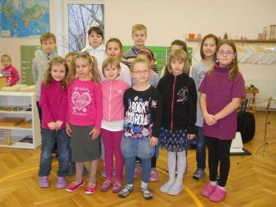 Školní sbor v MŠ Montessori