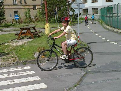 Průkaz cyklisty.