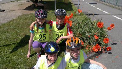 Soutěž mladých cyklistů 2015