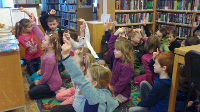 I.A v knihovně