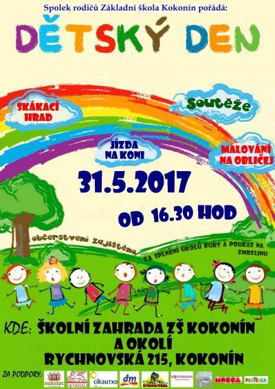 Dětský den 31.5.2017