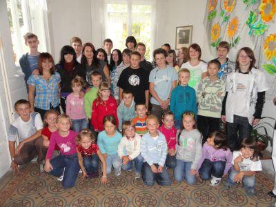 Žáci I.B v Kokoníně.