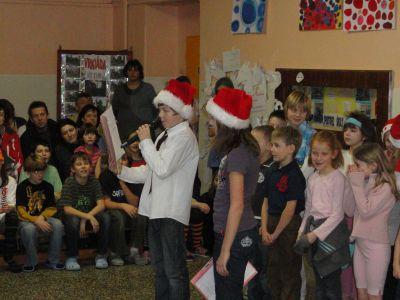 Vánoční besídka 2010.