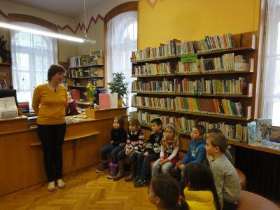 I.A v městské knihovně