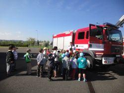 Návštěva u hasičů 2013