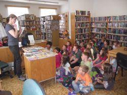 I.B v pobočce Městské knihovny
