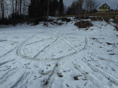 Zimní den na Vrkoslavicích