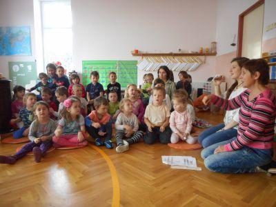 Návštěva v MŠ Montessori