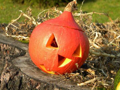 Halloween ve školní družině.