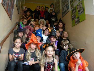 Halloween v ŠD 215