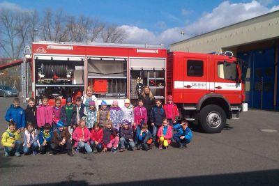 Exkurze u hasičů 2015