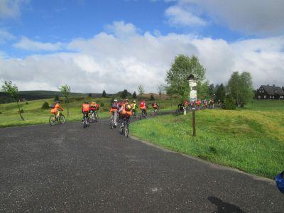 Cyklistická exkurze 2014