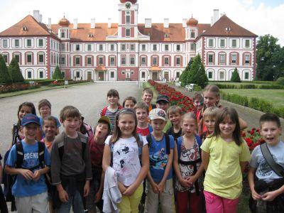 Školní výlet II.+III.B 2012