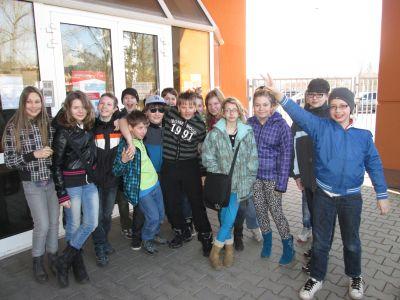 Exkurze žáků VI. třídy do HZSLK, 2015