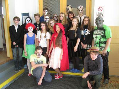 Halloween u nás ve škole