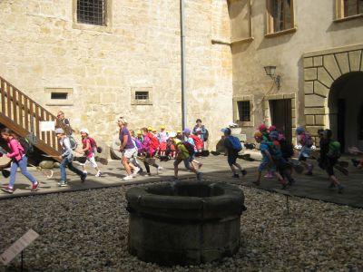Školní výlet Staré Hrady