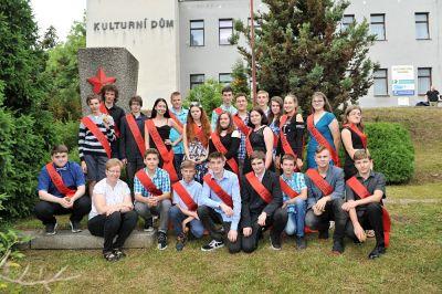 Vítání prvňáčků a akademie IX. třídy