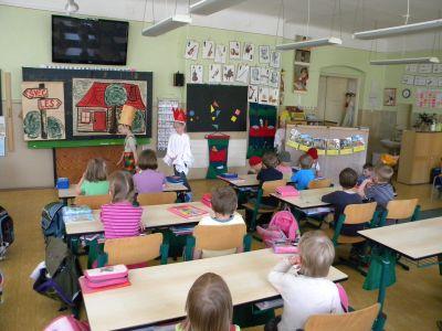Příprava dětí do školy.