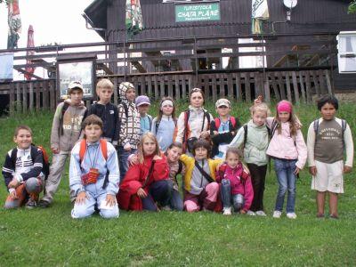 Školní výlet III.A 2011.