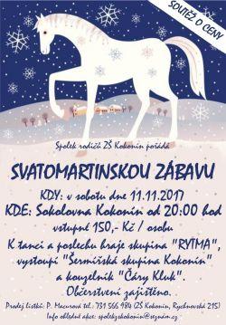 Svatomartinská zábava 11.11.2017