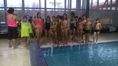 Okresní přebor v plavání 2014