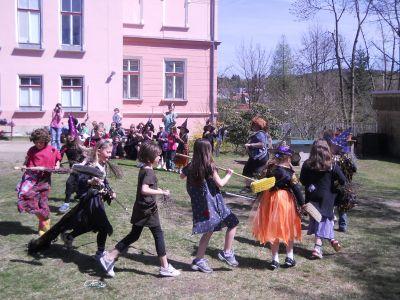 Čarodějnice na Vrkoslavicích 2012.