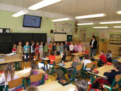 Škola hostila děti z MŠ.