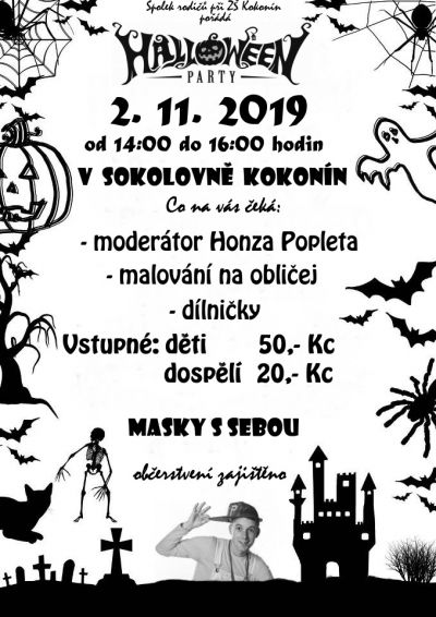 HALLOWEEN PARTY 2.11.2019