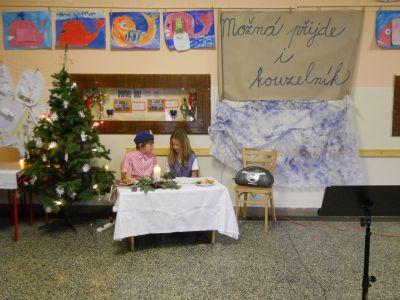 Vánoce ve škole.