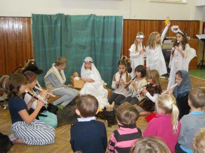 Vystoupení pro MŠ Montessori 2012