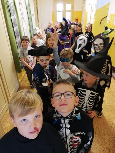 Strašidla ve škole