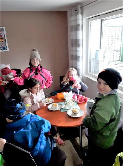 Vrkoslavický zimní den