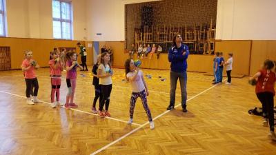 Trenéři v akci