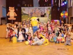 Dětský karneval 18.2.2018