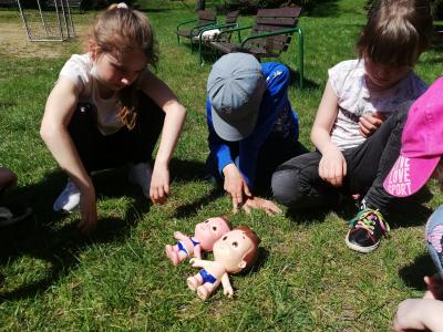 Sluneční panenky ve školní družině
